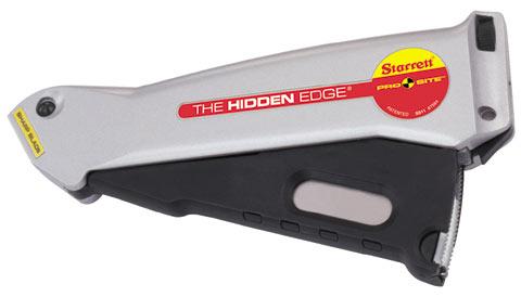 S011 Starrett Prosite Hidden Edge Utility Knife